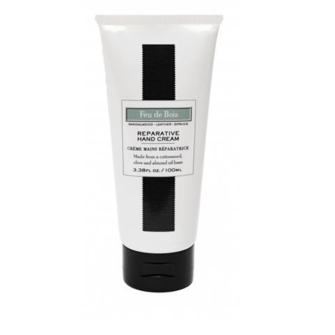 Lafco House & Home Hand Cream Tube Feu De Bois 3.38oz