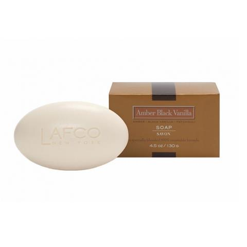 Lafco House & Home Bar Soap Amber Black Vanilla 4.5oz