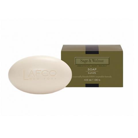 Lafco House & Home Sage & Walnut Soap 4.5oz