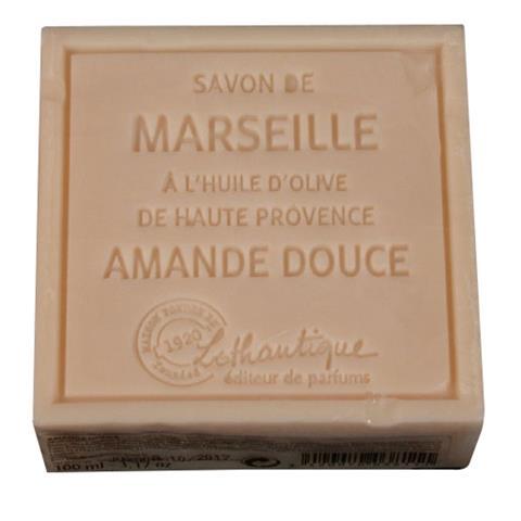 Lothantique Savon de Marseille Soap Sweet Almond 100g/3.5oz