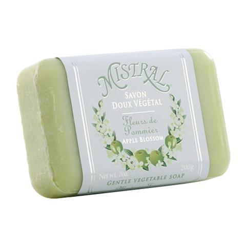 Mistral Classsic French Soap Apple Blossom 7oz