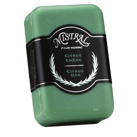 Mistral Men's Citrus Oak French Soap 8.8oz