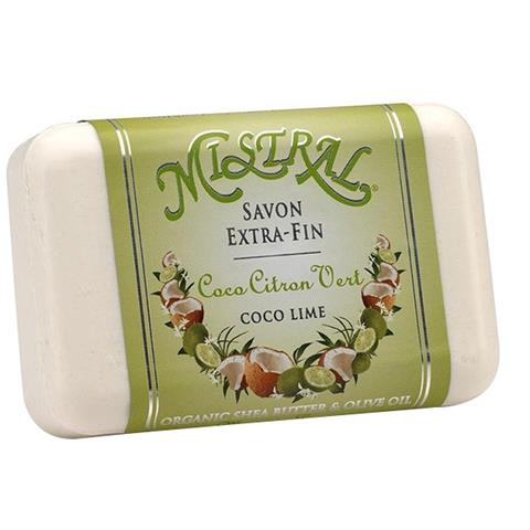 Mistral Classic French Soap Coco Lime 7oz