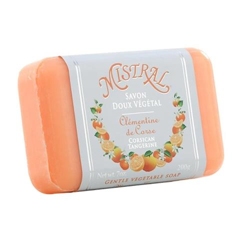 Mistral Classsic French Soap Corsican Tangerine 7oz