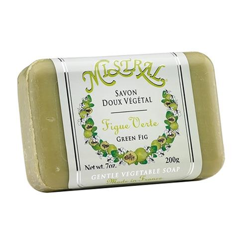 Mistral Classsic French Soap Green Fig 7oz