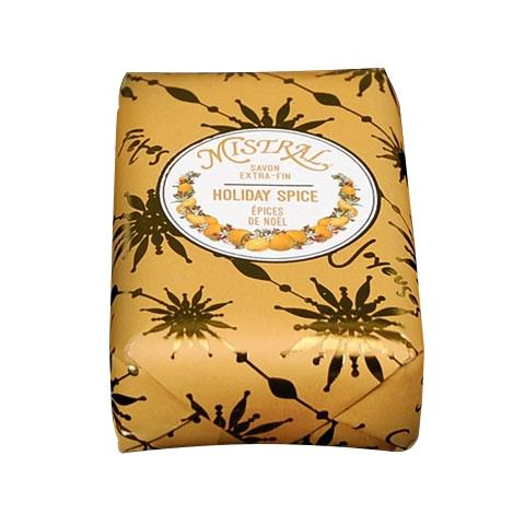 Mistral Organic Shea Butter Soap Holiday Spice 7oz/200G