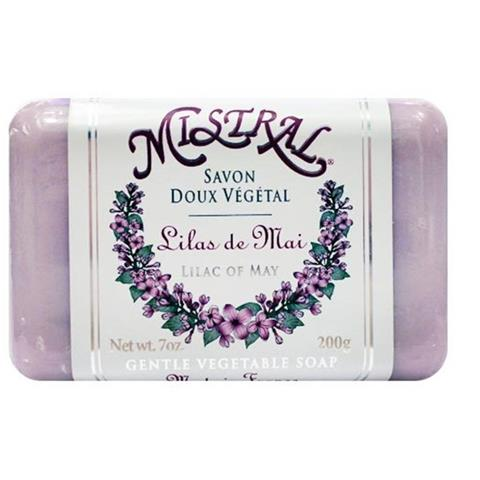 Mistral Classsic French Soap Lilac of May 7oz