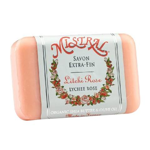 Mistral Classsic French Soap Lychee Rose 7oz