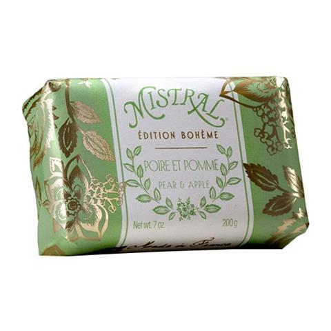 Mistral Edition Boheme Pear And Apple Soap 7oz