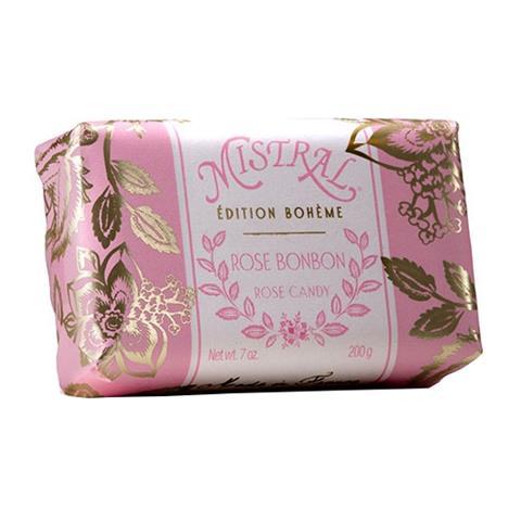 Mistral Edition Boheme Rose Candy Soap 7oz