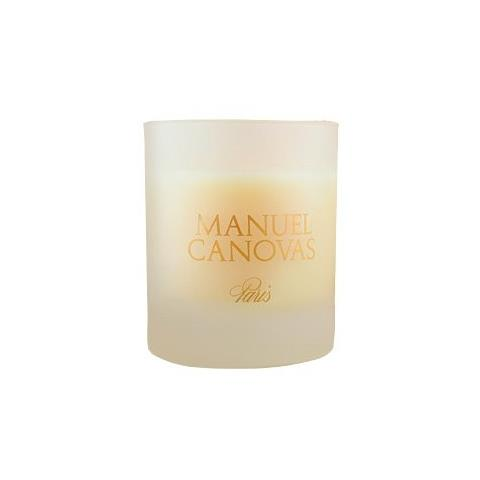 Manuel Canovas Brune et d'Or Medium Candle 4.2oz Approx 40 Hours