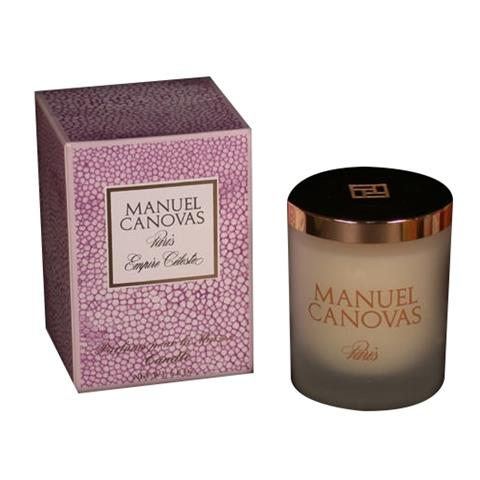 Manuel Canovas Empire Celeste Large Candle 6.6oz Approx 60 Hours