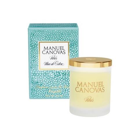 Manuel Canovas Fleur de Coton Large Candle 6.6oz Approx 60 Hours
