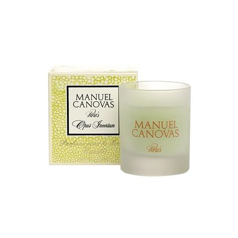 Manuel Canovas Opus Incertum Medium Candle 4.2oz Approx 40 Hours