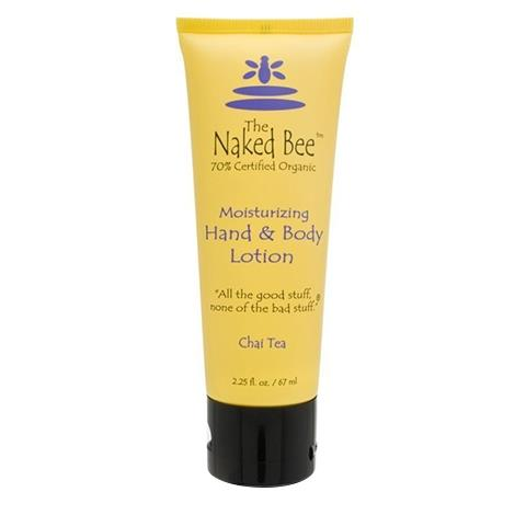 The Naked Bee Chai Tea Hand & Body Lotion 67ml/2.25oz