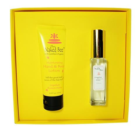 The Naked Bee Grapefruit Blossom Honey Perfume Gift Set