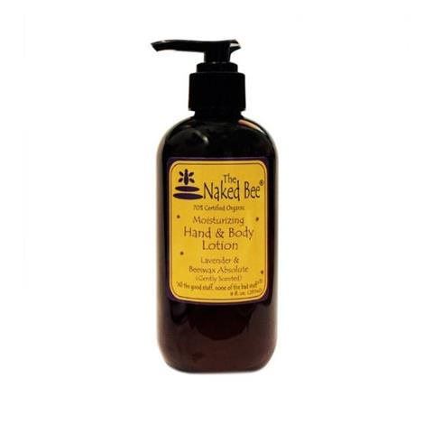 The Naked Bee Lavender Beeswax Absolute Hand & Body Lotion 237ml/8oz