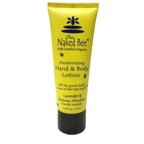 The Naked Bee Lavender Beeswax Absolute Hand & Body Lotion 67ml/2.25oz