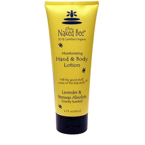 The Naked Bee Lavender Beeswax Absolute Hand & Body Lotion 200ml/6.7oz