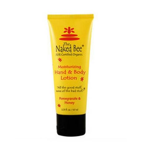 The Naked Bee Pomegranate & Honey Hand & Body Lotion 67ml/2.25oz