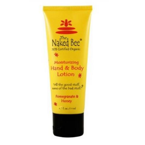 The Naked Bee Pomegranate & Honey Hand & Body Lotion 200ml/6.7oz
