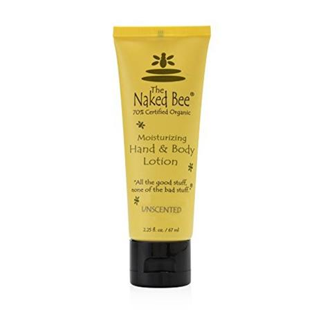 The Naked Bee Unscented Moisturizing Hand & Body Lotion 67ml/2.25oz