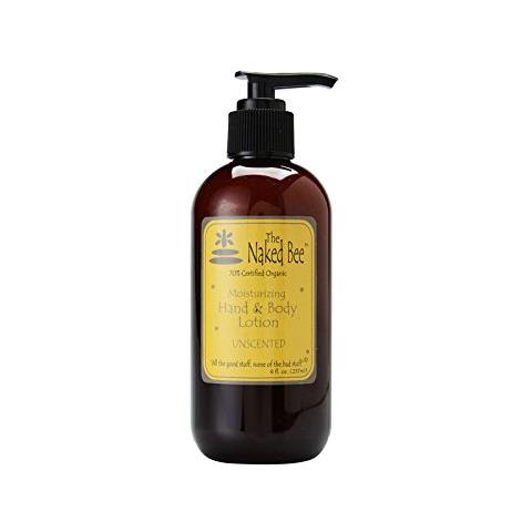 The Naked Bee Unscented Moisturizing Hand & Body Lotion 257ml/8oz