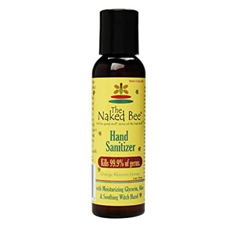 The Naked Bee Orange Blossom Honey Hand Sanitizer 60ml/2.0oz