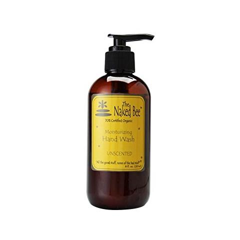 The Naked Bee Unscented Moisturizing Hand Wash Pump 237ml/8oz