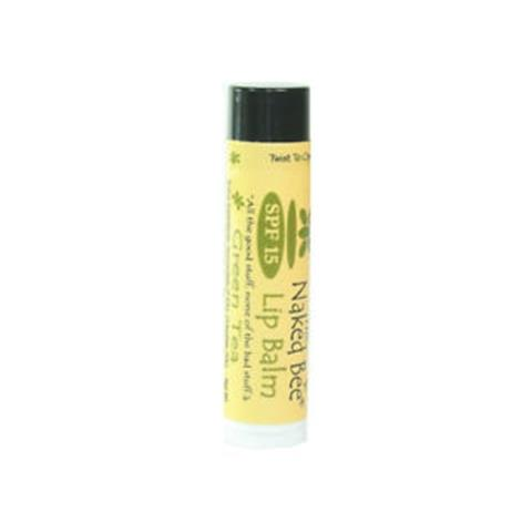 The Naked Bee Green Tea Lip Balm with SPF15 4.25g/0.15oz