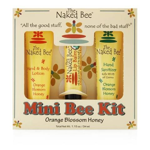 The Naked Bee Orange Blossom Honey Mini Bee Kit 34ml/1.15 oz