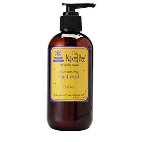 The Naked Bee Chai Tea Moisturizing Hand Wash Pump 237ml/8oz