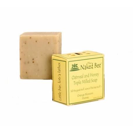 The Naked Bee Orange Blossom Honey Oatmeal & Honey Soap 78g/2.75oz