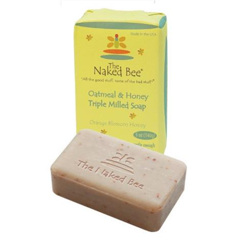 The Naked Bee Oatmeal & Honey Triple Milled Soap 142g/5oz