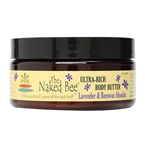 The Naked Bee Lavender Beeswax Absolute Ultra-Rich Body Butter 226g/8oz