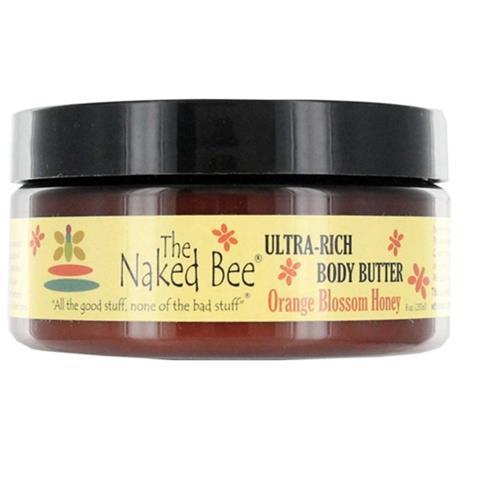 The Naked Bee Orange Blossom Honey Ultra Rich Body Butter 226g/8oz
