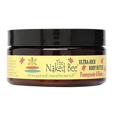 The Naked Bee Pomegranate & Honey Ultra Rich Body Butter 237/8oz