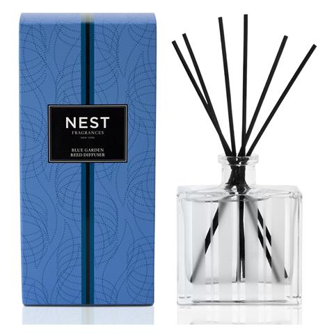 Nest Blue Garden Reed Diffuser (Alcohol Free) 5.9oz