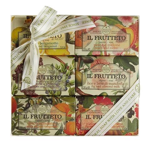 Nesti Dante IL Frutteto The Fruit Garden Soaps Gift Set