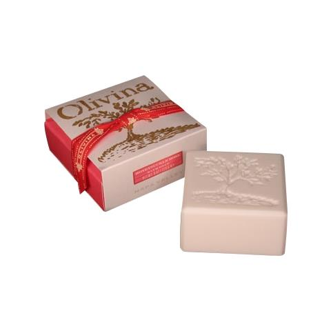 Olivina Honeysuckle Rose Bath Soap Gift Box 8oz
