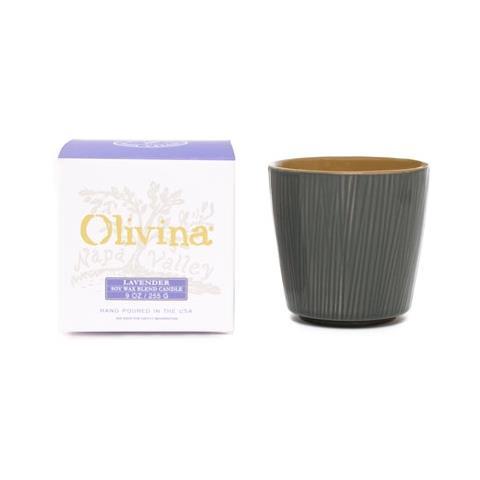 Olivina Lavender Ceramic Candle 9oz