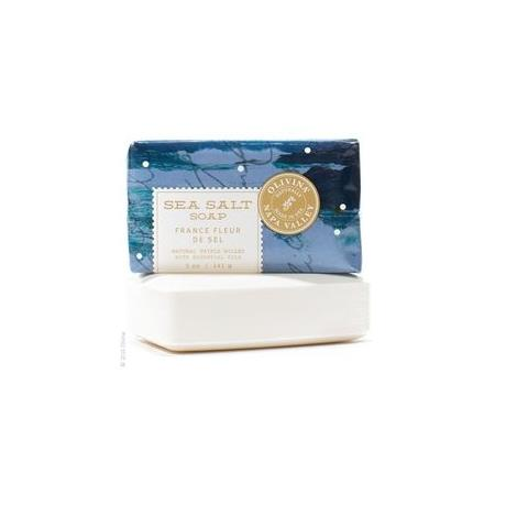 Olivina Sea Salt Soap France Fleur & Oceanic Scent 5oz