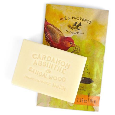 Pre de Provence Private Collection Soap Cardamom, Absinthe & Sandalwood 3.8 oz