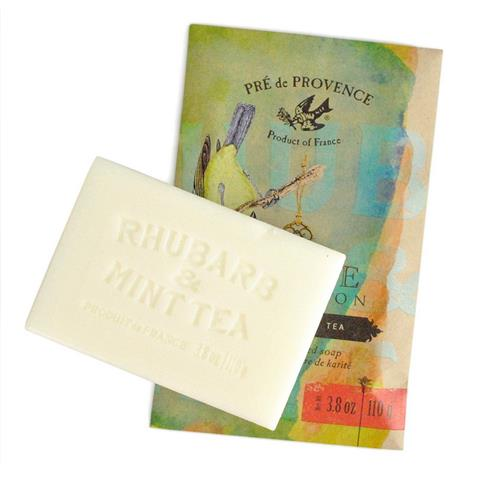 Pre de Provence Private Collection Soap Rhubarb & Mint Tea 3.8 oz