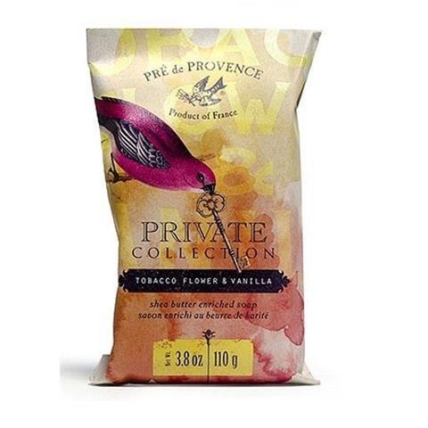 Pre de Provence Private Collection Soap Tobacco Flower And Vanilla 3.8 oz