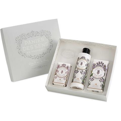 Panier des Sens Relaxing Lavender Body Care Gift Set 16.3oz