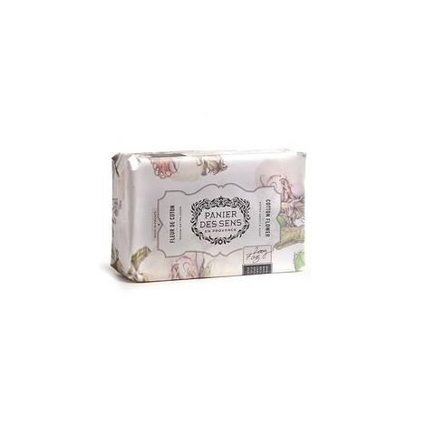 PanierDes Sens Shea Butter Soap Cotton FLOWER 7oz