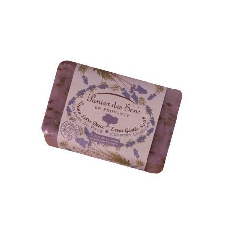 PanierDes Sens Shea Butter Soap Exfoliating Lavender 7oz