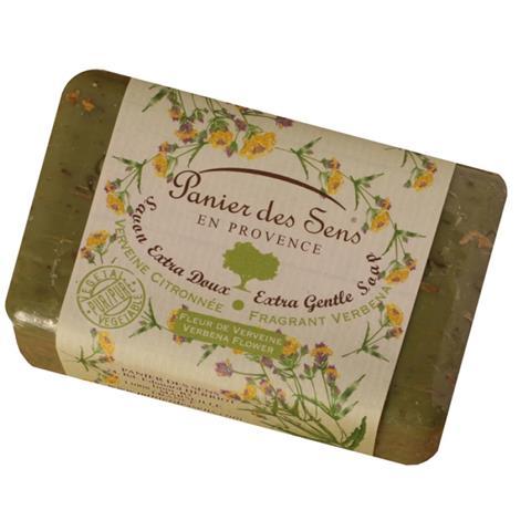 PanierDes Sens Shea Butter Soap Exfoliating Verbena 7oz