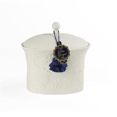 Seda France Bleu et Blanc Two-Wick Ceramic Candle Bleu Ginger 22oz
